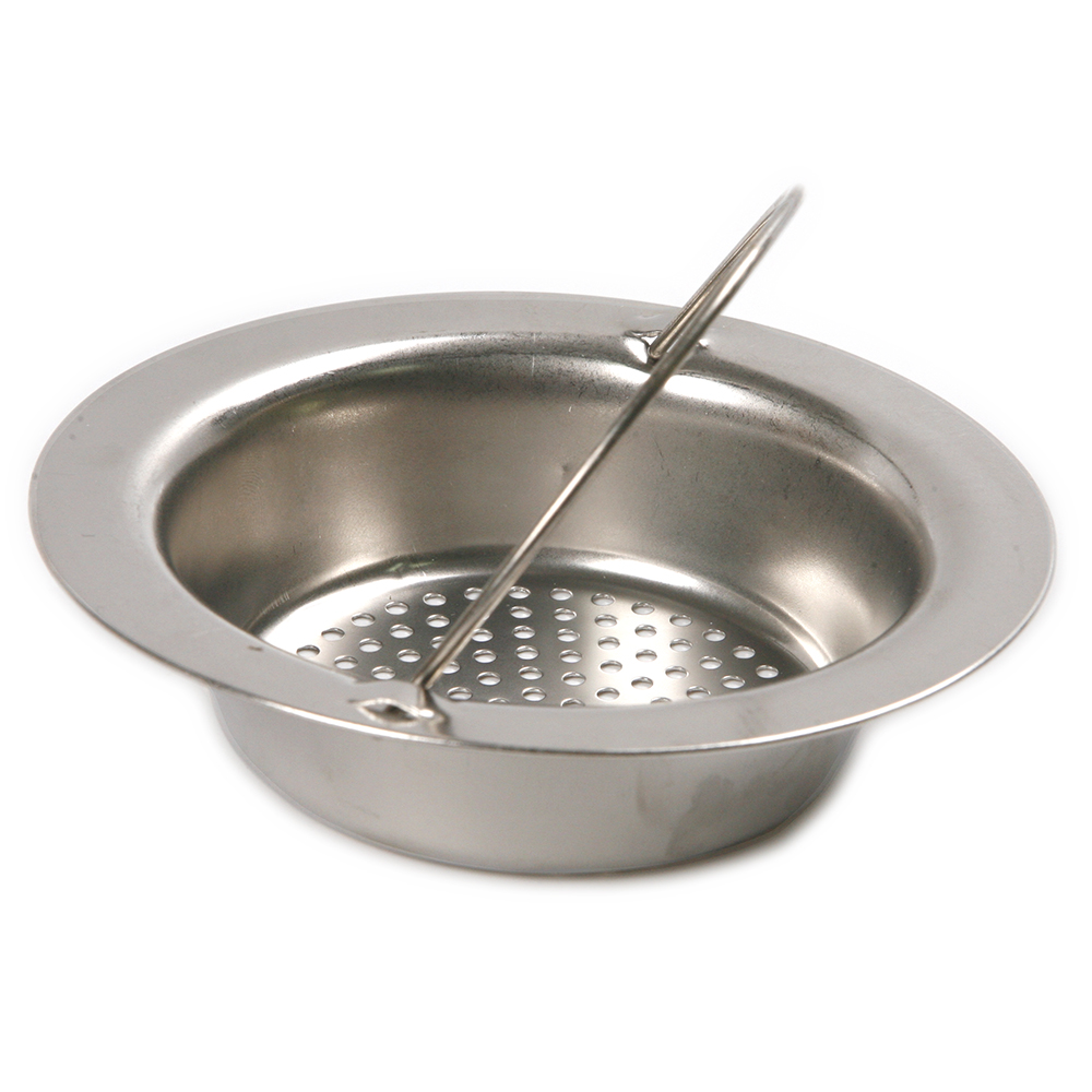 Stainless steel kitchen sink strainer waste plug drain - Kitchen sink plug ...